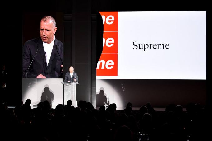 James Jebbia of Supreme at CFDA Awards