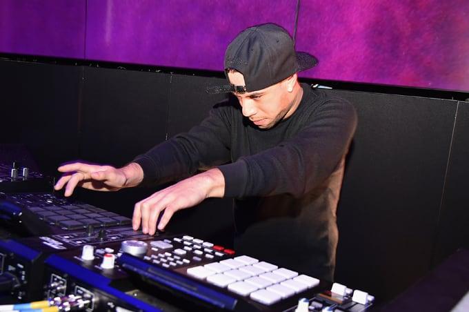 AraabMuzik performs at the SoundCloud Artist Forum Afterparty