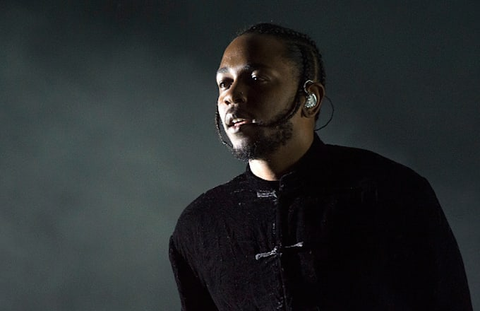 Kendrick Lamar performs in Coachella Valley Music And Arts Festival
