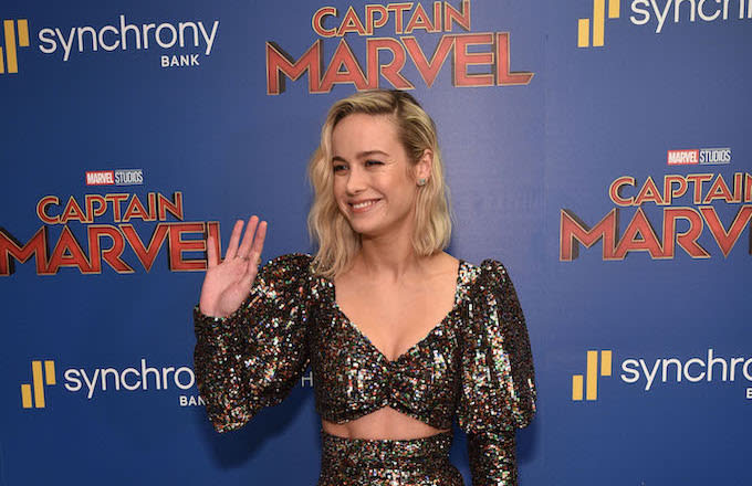 'Captain Marvel' Is Projected to Make Around $160 Million ...