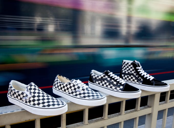 Get Dazed and Confused with the Vans Blur Check Pack 099492649