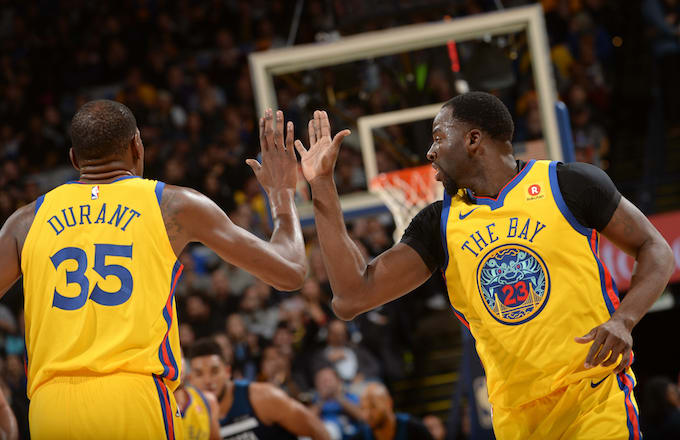 2f3a9deb61a4 Draymond Green Reportedly Told Kevin Durant That the Warriors Don t Need Him