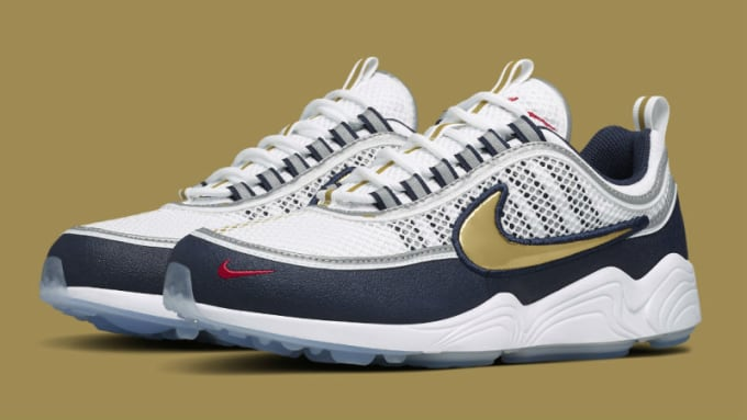 cheap for discount 70023 bd60c Nike Air Zoom Spiridon Olympic