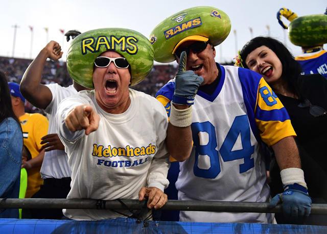 Los Angeles Rams fans