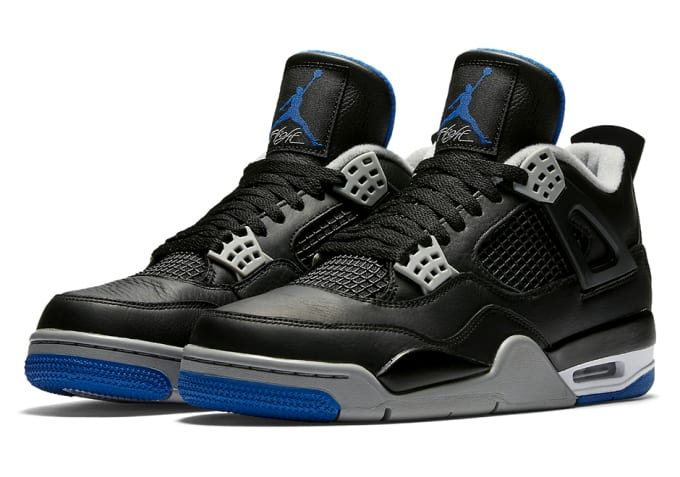 "Air Jordan IV ""Black/Royal"""