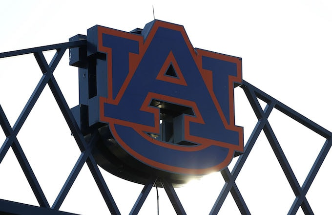 Photo of the Auburn University logo