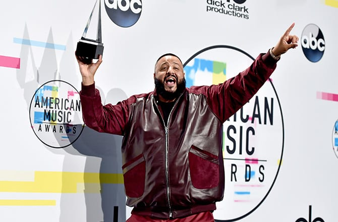 This is a photo of DJ Khaled.