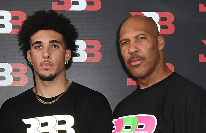 LiAngelo and LaVar Ball