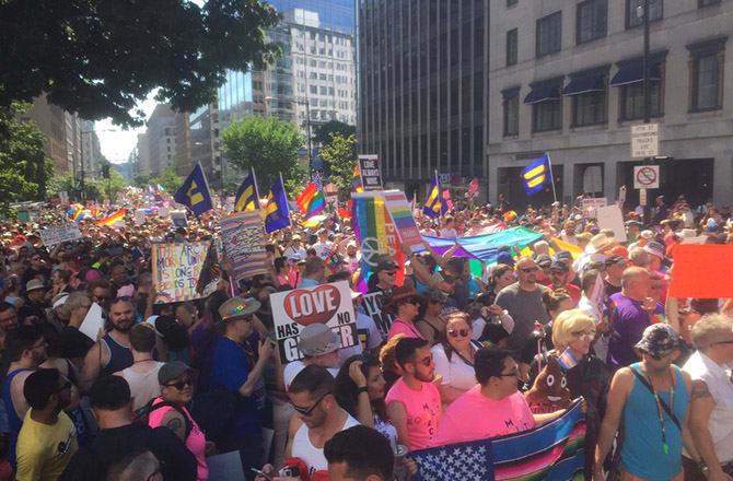 This is a photo of pride week.