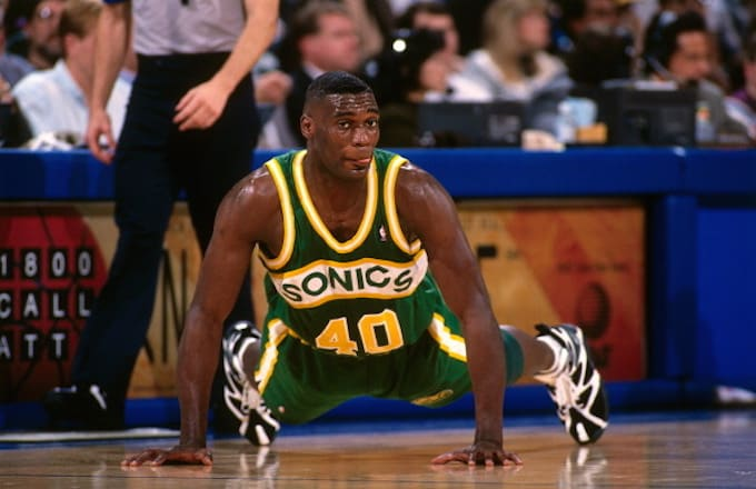 Shawn Kemp v. Golden State 1995