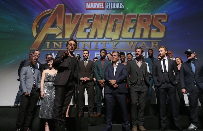 Check Out Some Early 'Avengers: Infinity War' Reactions From the World Premiere  Complex