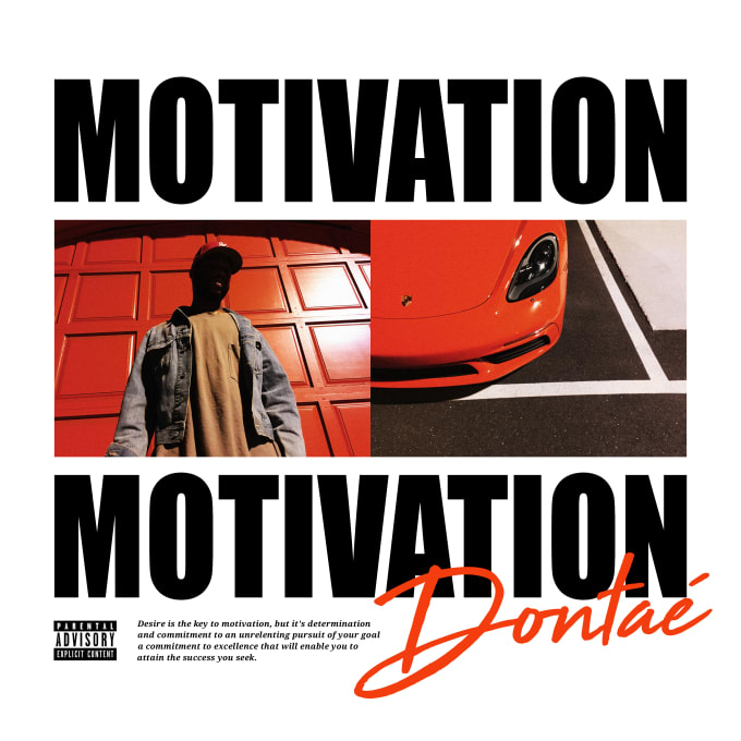 Dontaé - Motivation Cover