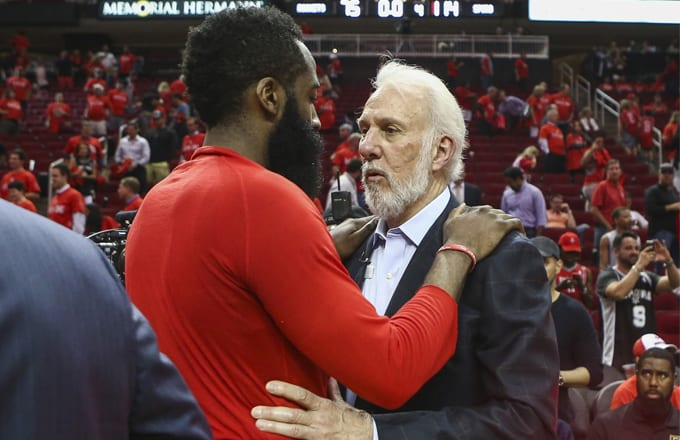 b3dafe8c538 Did James Harden Drink a Cup of Mud With Hulk Hogan Before Last Night s  Game