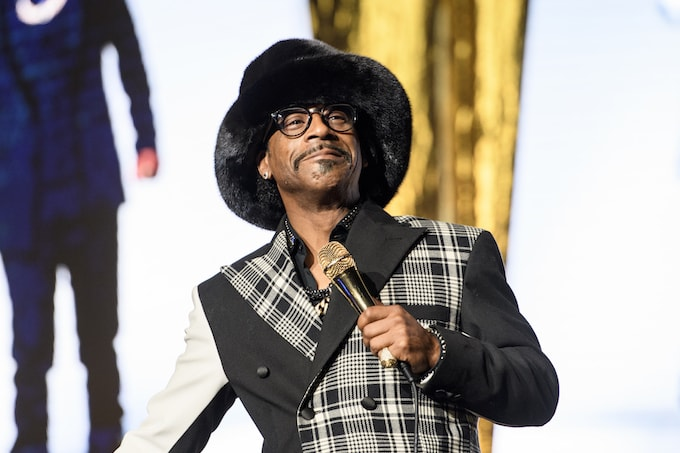 Katt Williams performing in New Orleans