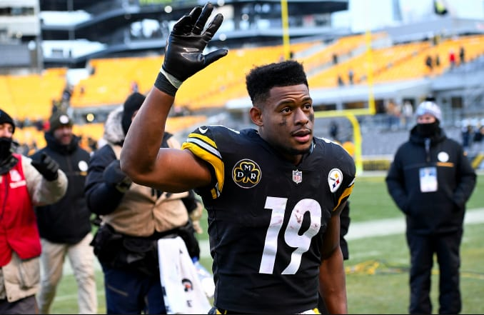 06cd17a98684 JuJu Smith-Schuster Shoots His Shot to Get LeBron to Join Steelers ...