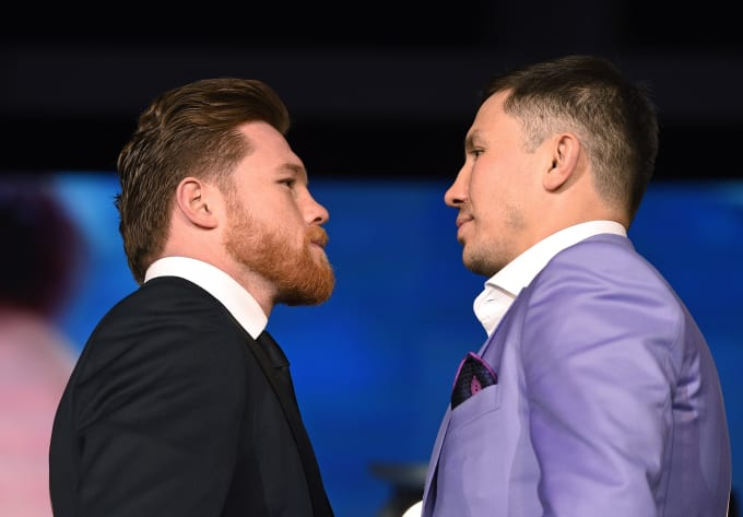 dbae86586bc2 A Timeline of Pettiness Between Gennady Golovkin and Canelo Alvarez ...