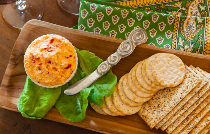 Pimento Cheese And Crackers Spread The Best Bbq Side
