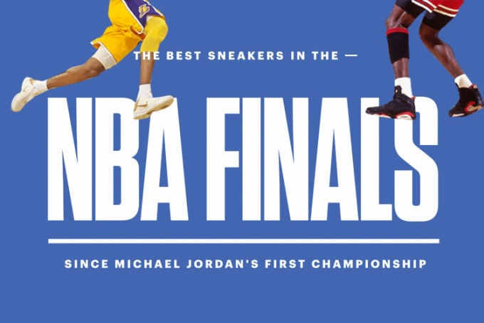 6c1a1fd64 The Best Sneakers in Every NBA Finals Since Michael Jordan s First  Championship (1991-2017)