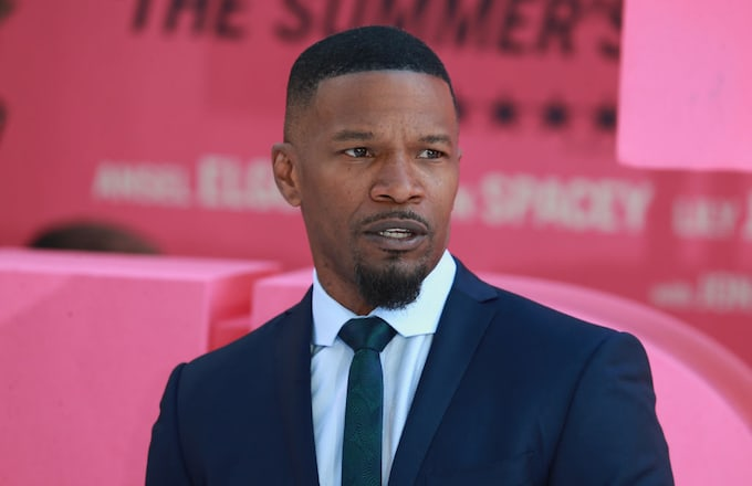 Jamie Foxx at the 'Baby Driver' premiere