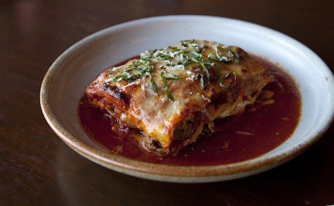 Lasagna in Maine