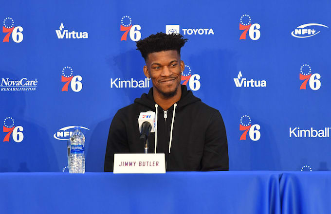 Jimmy Butler Says He Isn t a Problem Unless His Teammates Are  Fake ... 402ee227e