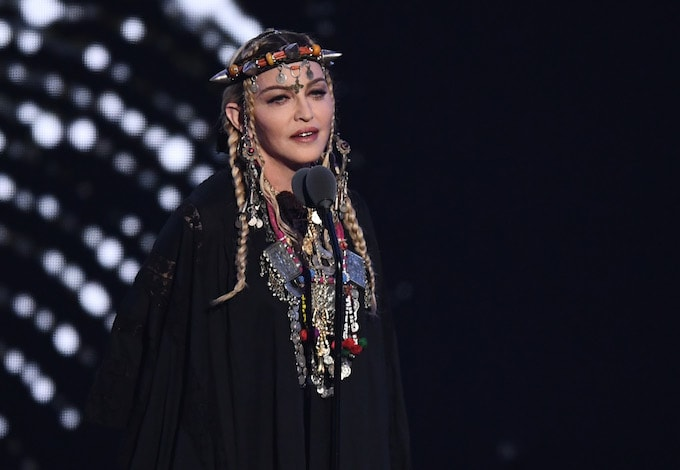 Madonna at the MTV VMAs