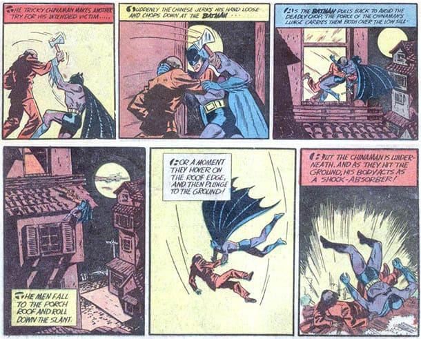 """Batman versus the """"Chinaman"""""""