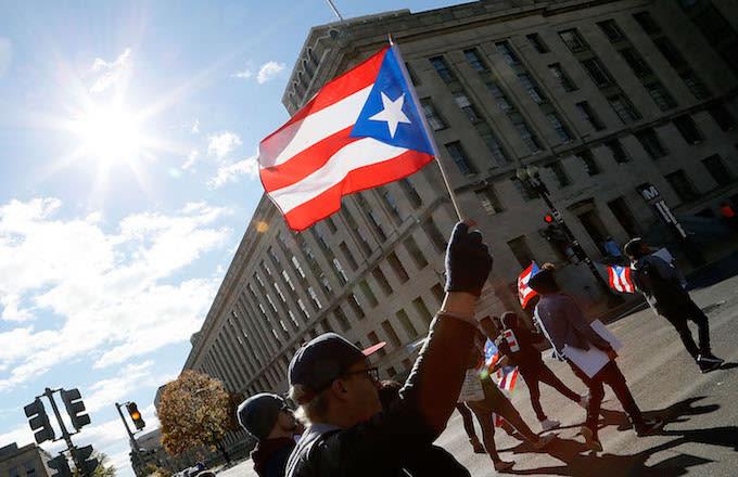Puerto Rico march