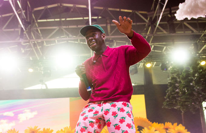 Tyler, The Creator performing at Panorama Festival 2017