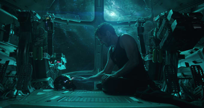 Robert Downey Jr. as Tony Stark / Iron Man in 'Avengers: Endgame'