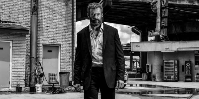 Hugh Jackman in 'Logan'