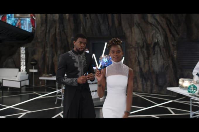T'Challa e Shuri, 'Pantera Negra'