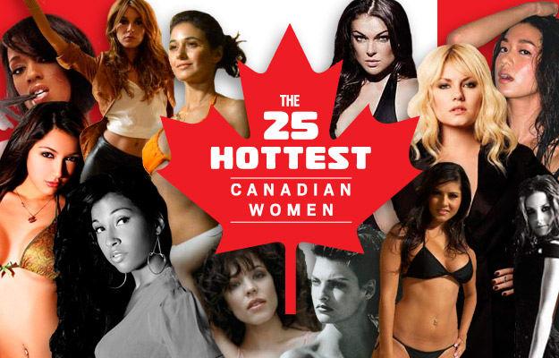 Sexiest canadian women
