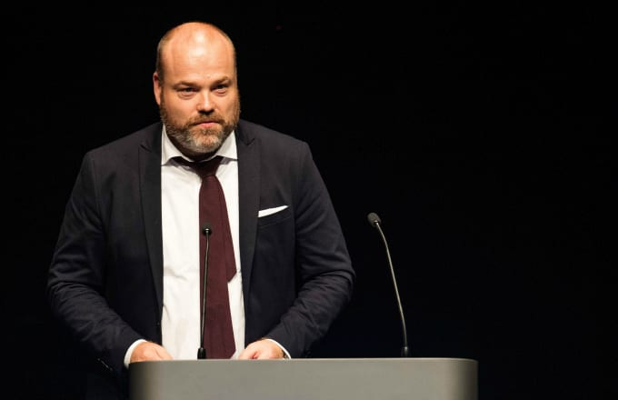 Bestseller CEO Anders Holch Povlsen during an event