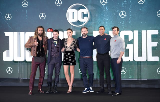 'Justice League' cast in London