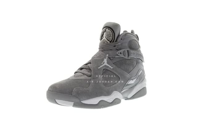 "Air Jordan VIII ""Cool Grey"""
