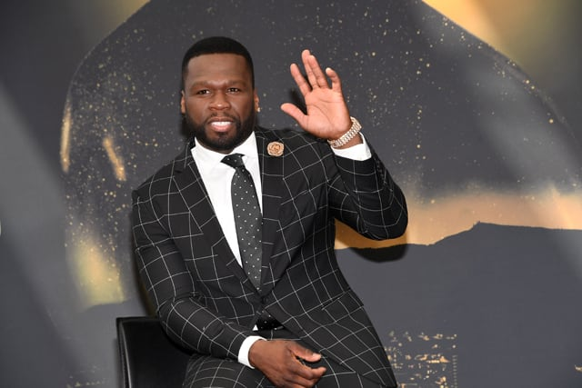 50 Cent at 57th Monte Carlo TV Festival