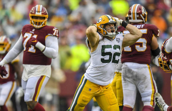 Clay Matthews Reacts to Roughing the Passer Flag