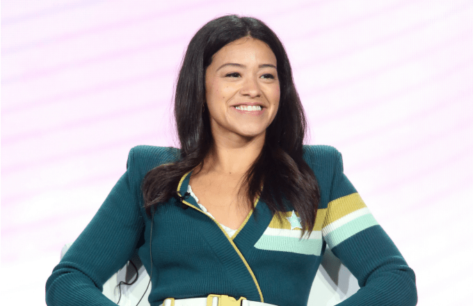 Gina Rodriguez of the television show 'Jane the Virgin' speaks