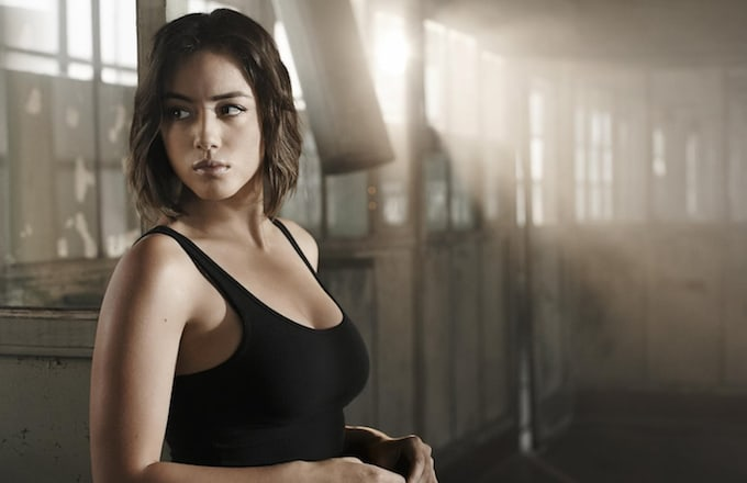 Chloe Bennet as Daisy Johnson in Marvel's Agents of S.H.I.E.L.D