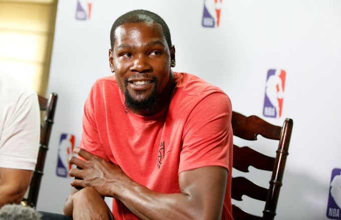 79d193dcbfd Kevin Durant Is Sticking By the Creepy 2011 Tweet He Sent Out About ...