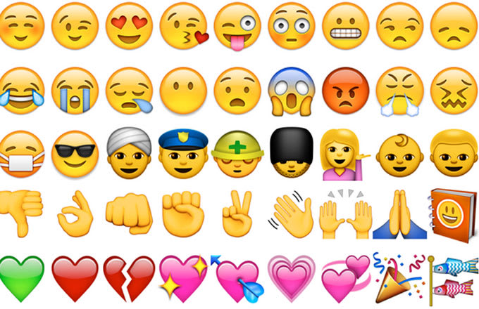 45 emojis for you to use, improperly or not.