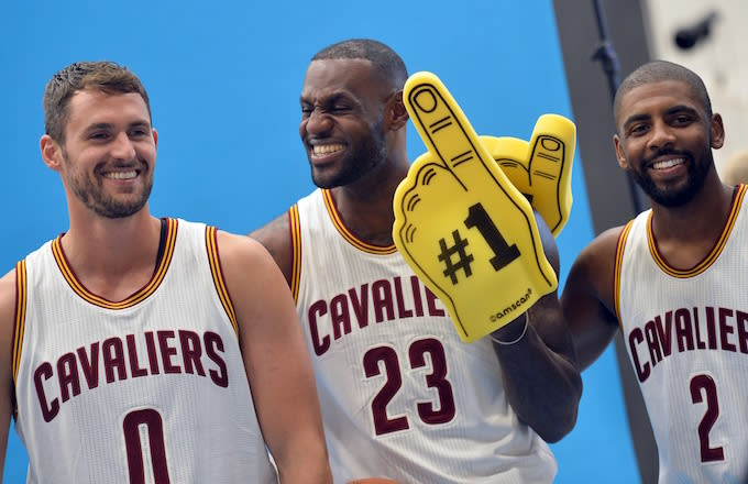 810ef7d0d4f0 Cavaliers Reportedly Considered Benching Their Big 3 for Warriors Game