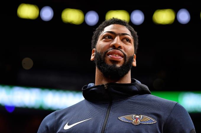 Anthony Davis Pelicans Heat 2018