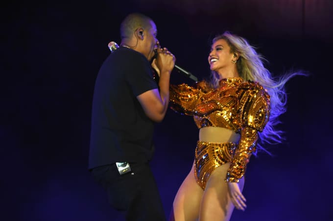 Image result for beyonce otr concert