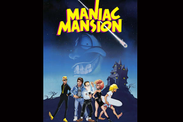 best-old-school-nintendo-games-maniac-mansion