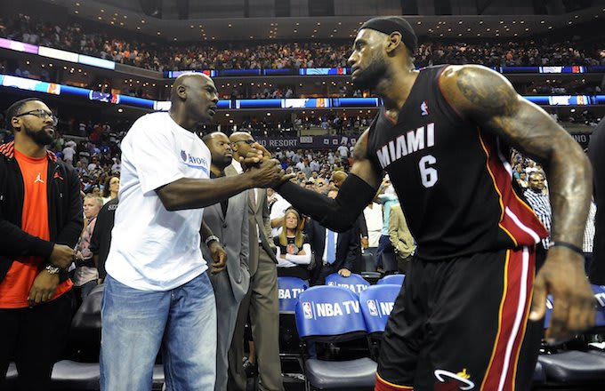 Michael Jordan, LeBron James