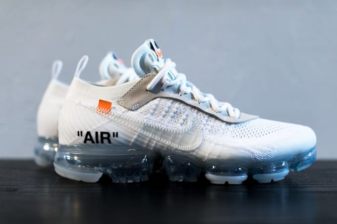 4c60aeb29afa Get an Upclose Look at the Next Off-White x Nike Air VaporMax Sneaker