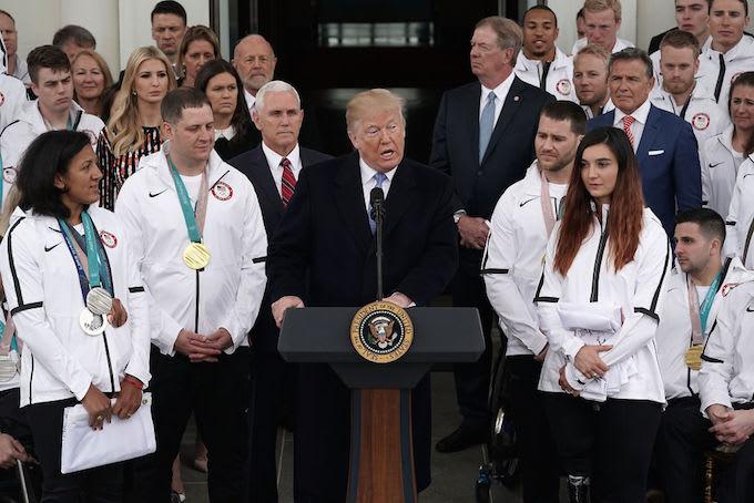 Trump Paralympics