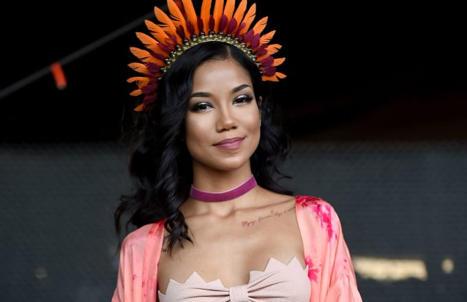 This is a phote of Jhene Aiko.